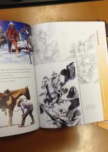 TEX e GLI EROI DEL WEST – Artbook