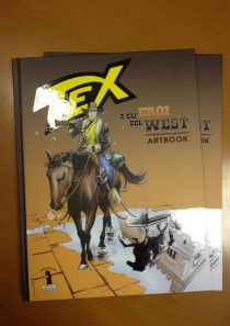 TEX e GLI EROI DEL WEST – Artbook