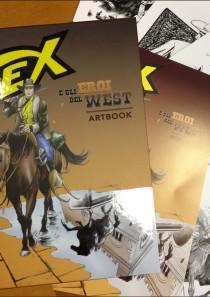 TEX e GLI EROI DEL WEST – Artbook e Cartellina 5 stampe