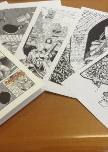EROI A GRAZZANO 2014 – Cartellina 5 stampe + 4 cartoline