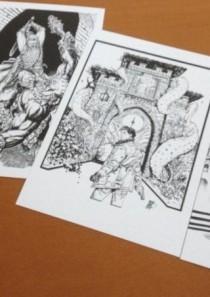 EROI A GRAZZANO 2014 – collezione 4 cartoline