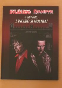 Artbook Blood edition – Dylan Dog, Dampyr e altri miti l'incubo si mostra