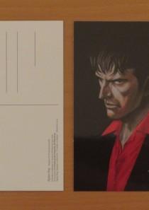Raccolta 3 cartoline – Dylan Dog, Dampyr e altri miti l'incubo si mostra