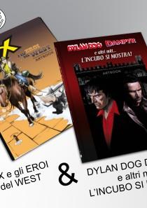 ORA PRO COMICS – 2 artbook bundle – Dylan + Tex