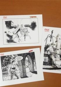 EROI A GRAZZANO 2013 – collezione 3 cartoline