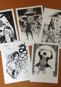 EROI A GRAZZANO 2012 – collezione 5 cartoline