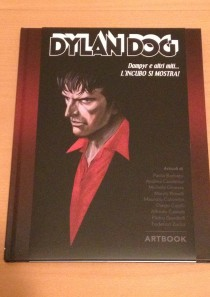 Artbook Blood edition variant – Dylan Dog, Dampyr e altri miti l'incubo si mostra
