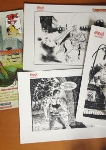 EROI A GRAZZANO 2013 – Locandina e Portfolio 3 stampe A4
