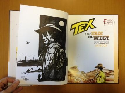 Artbook con disegno originale di Pasquale Frisenda in asta su EBAY per ORA PRO COMICS MONDAY