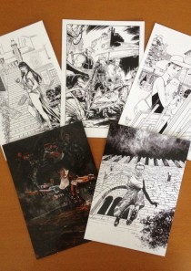 EROI A GRAZZANO 2015 – collezione 5 cartoline