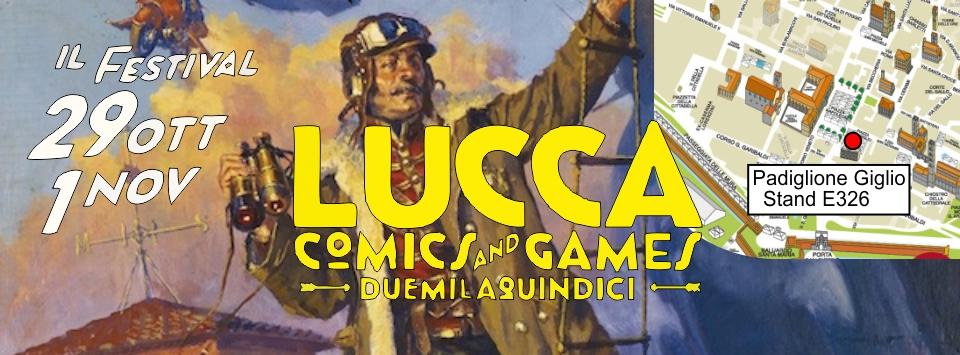 Ora Pro Comics a LUCCA 2015