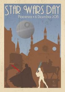 FESTIVAL DEL FUMETTO 2015 –  STAMPA A3 (Star Wars Day Piacenza)