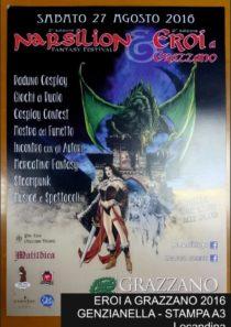 EROI A GRAZZANO 2016 –  STAMPA A3 (LOCANDINA Genzianella)