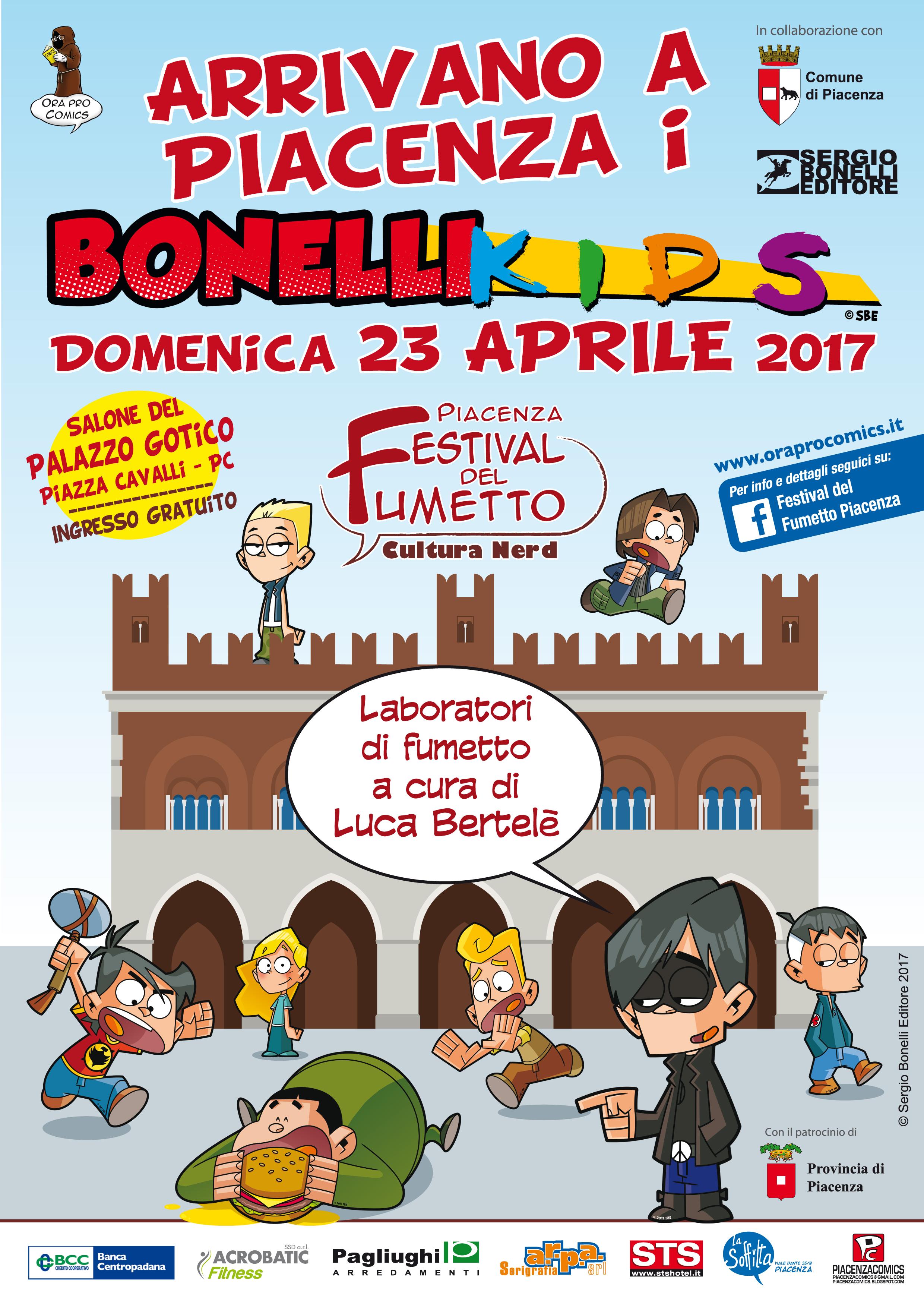 Arrivano i Bonelli Kids!