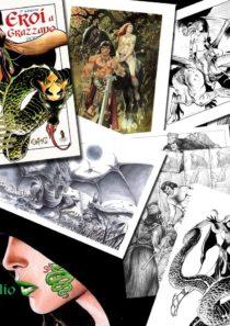 Portfolio 6 stampe Fantasy – Eroi a Grazzano 2017